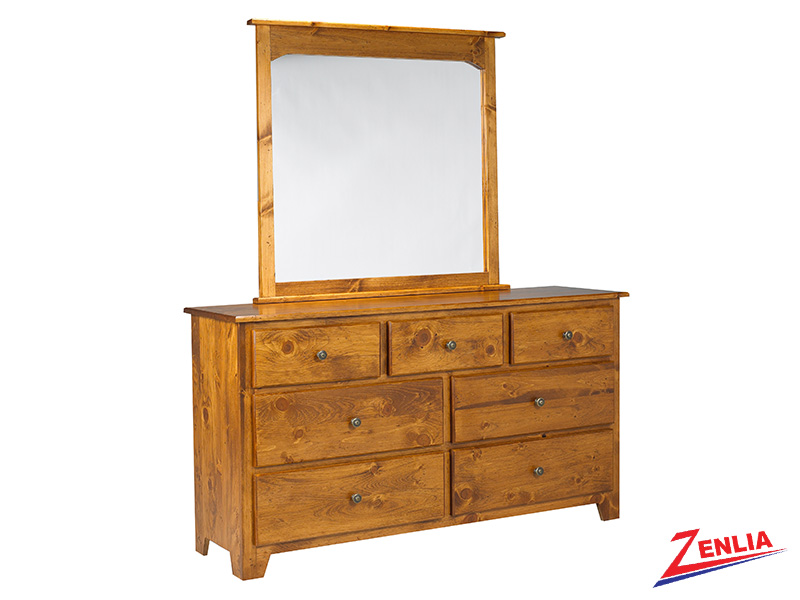 Have 7 Drawer Dresser And Mirror