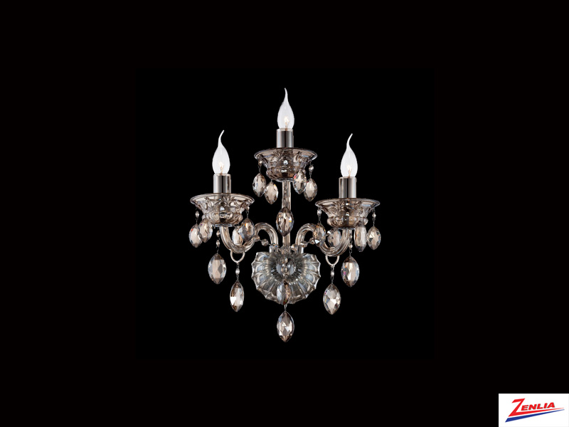 Vene 3 Light Wall Sconce Cognac