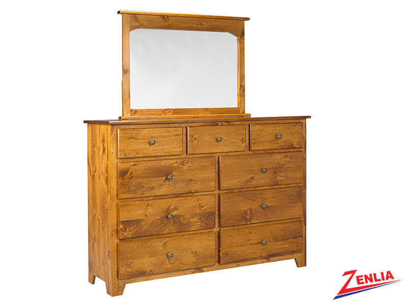 Have 9 Drawer Dresser And Mirror