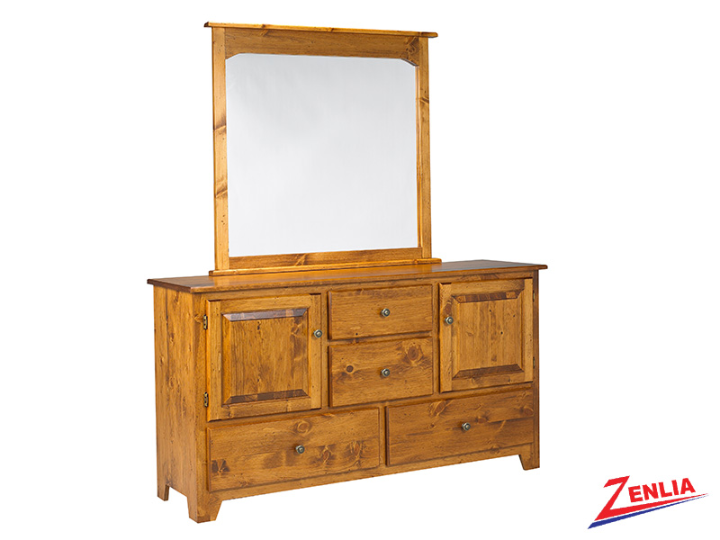 Have 8 Drawer 2 Door Dresser & Mirror
