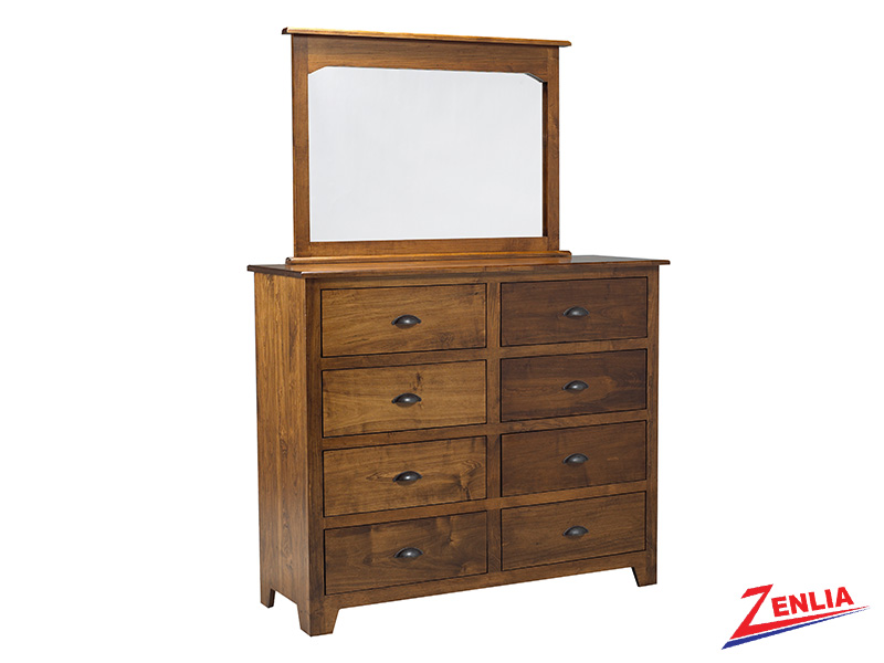 Lake 8 Drawer Dresser And Mirror