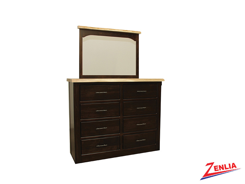 Live 8 Drawer Dresser & Mirror