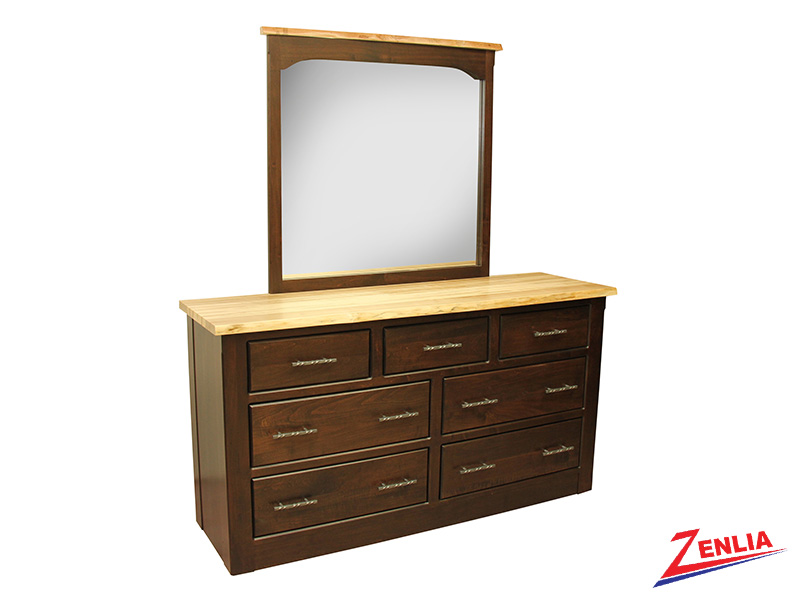 Live 7 Drawer Dresser & Mirror