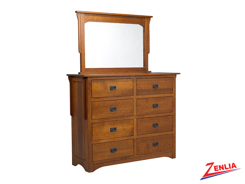 Miss 8 Drawer Dresser & Mirror
