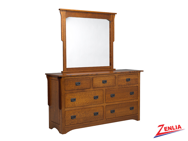 Miss 7 Drawer Dresser & Mirror