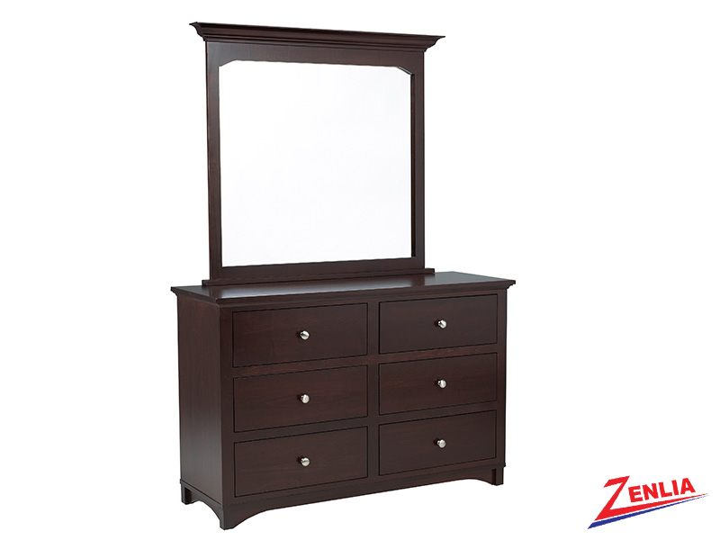 Mont 6 Drawer Dresser & Mirror