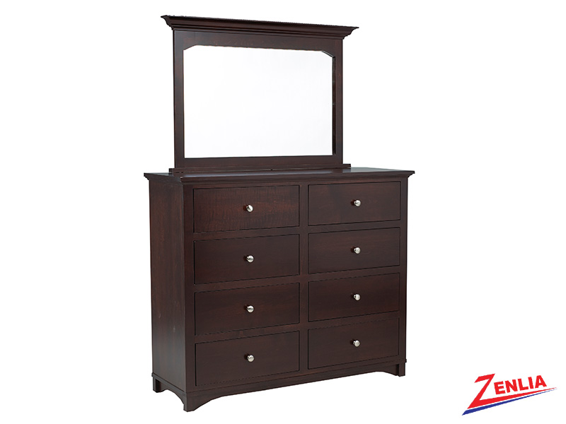 Mont 8 Drawer Dresser & Mirror