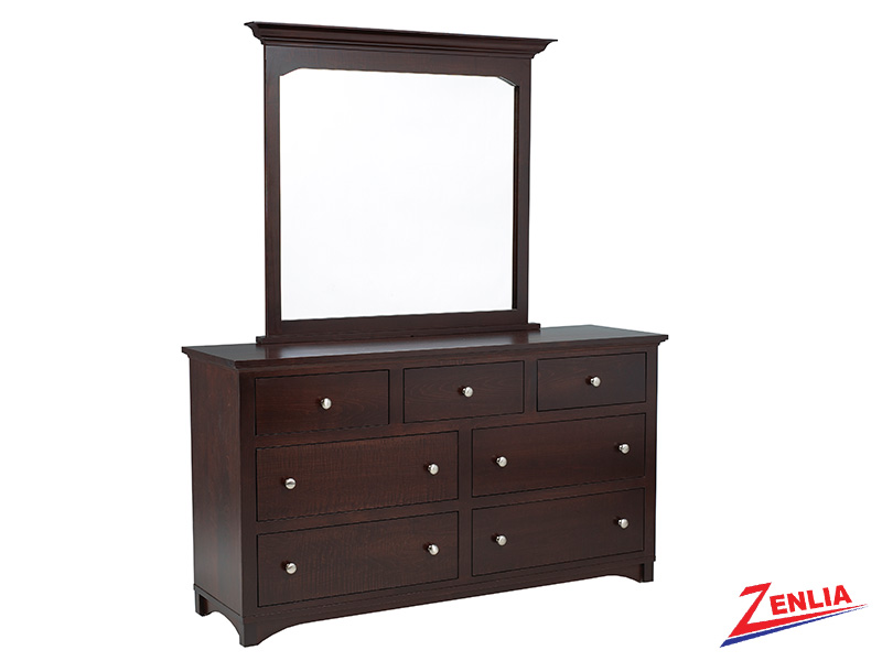 Mont 7 Drawer Dresser & Mirror