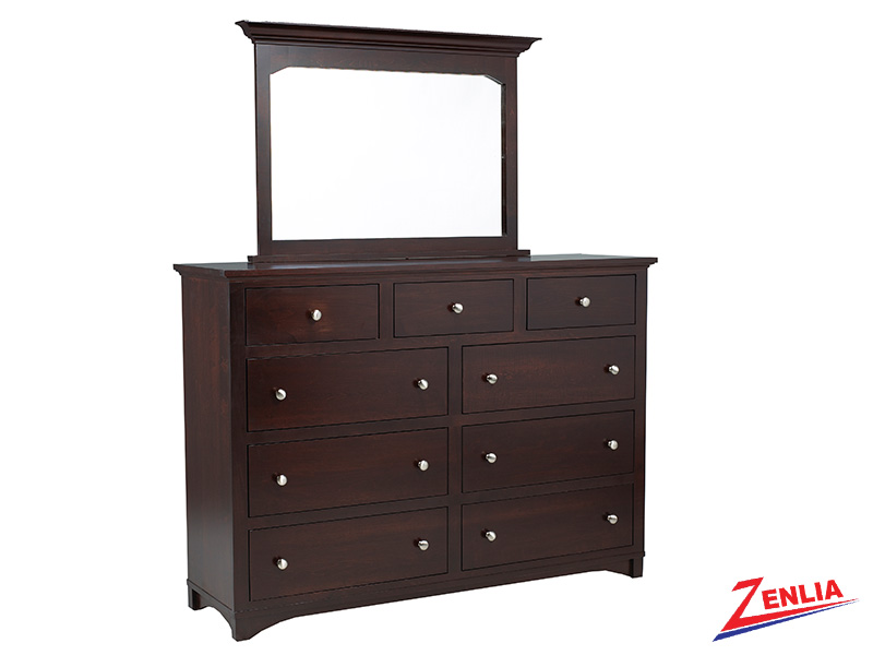 Mont 9 Drawer Dresser And Mirror