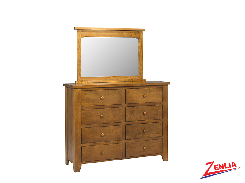 Ruff 8 Drawer Dresser & Mirror