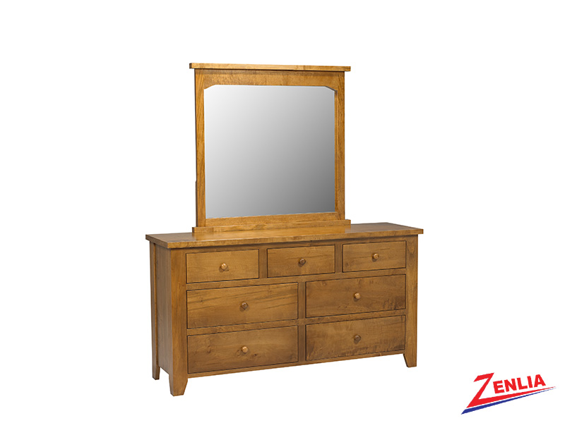 Ruff 7 Drawer Dresser & Mirror