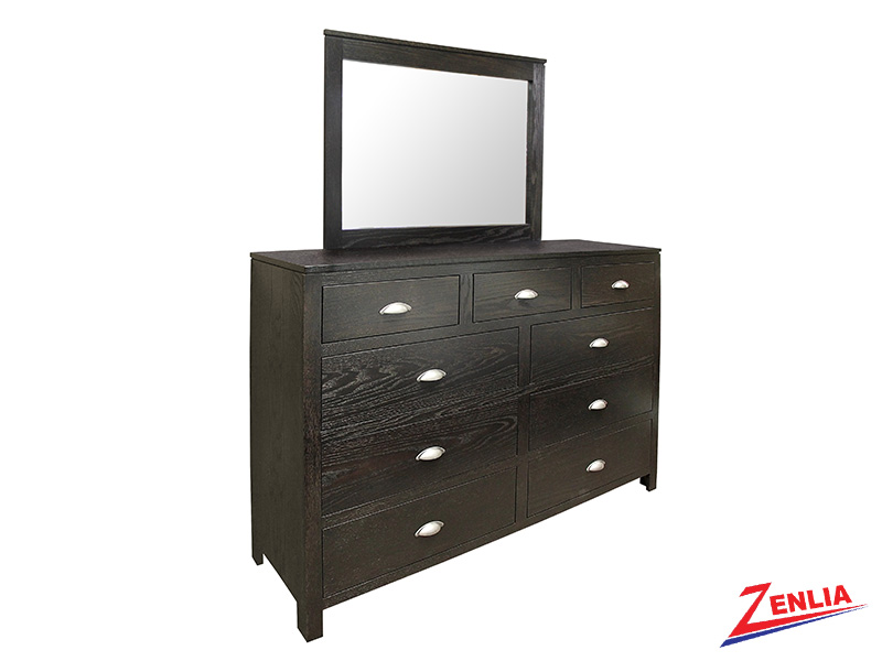 Urban 9 Drawer Dresser & Mirror