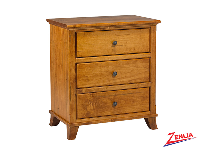 Bour 3 Drawer Chest