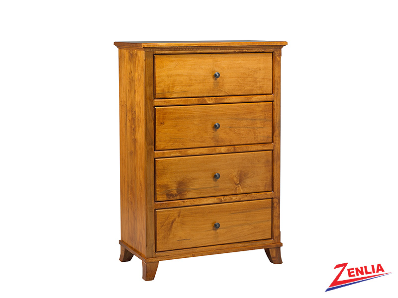 Bour 4 Drawer Chest Large