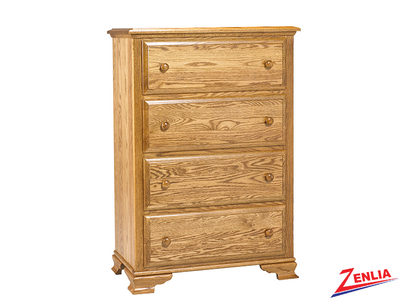 Coun 4 Drawer Chest Large