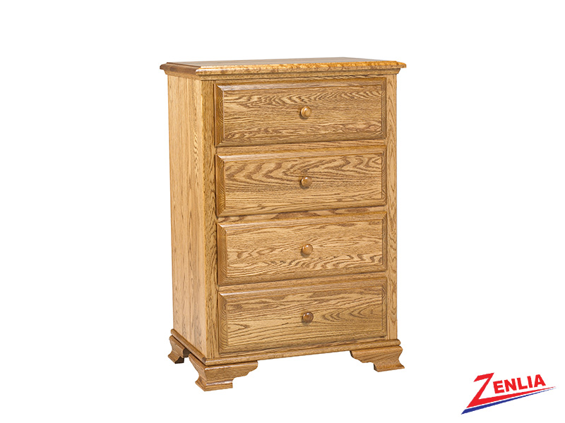 Country 4 Drawer Chest Small