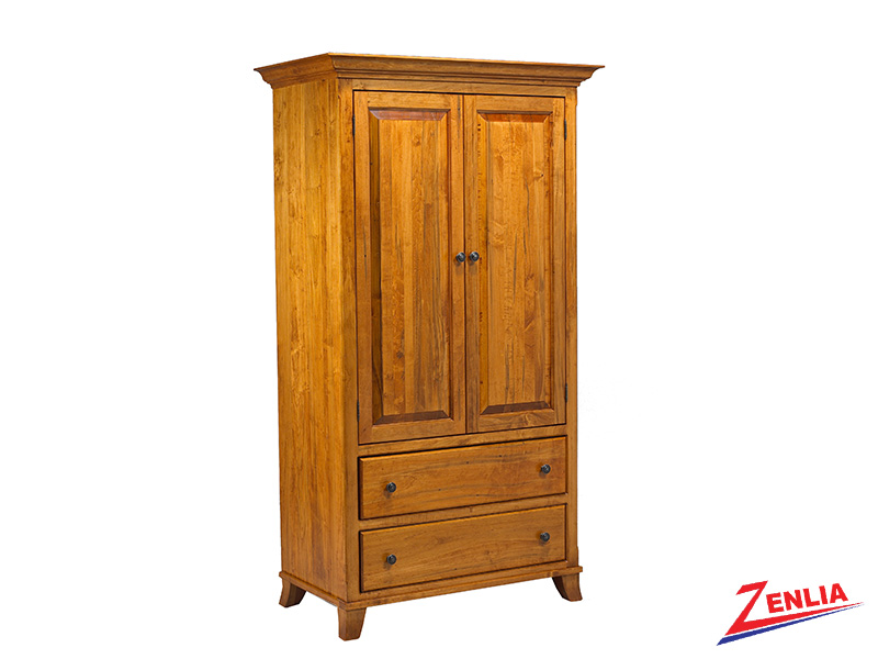 Bour Plain Top Armoire