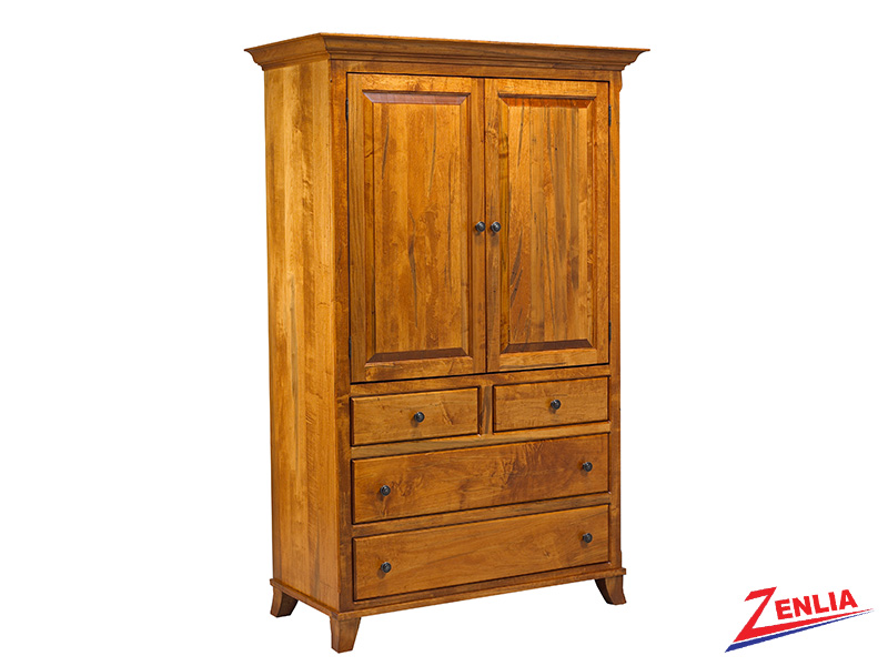 Bour Plain Top Armoire Large