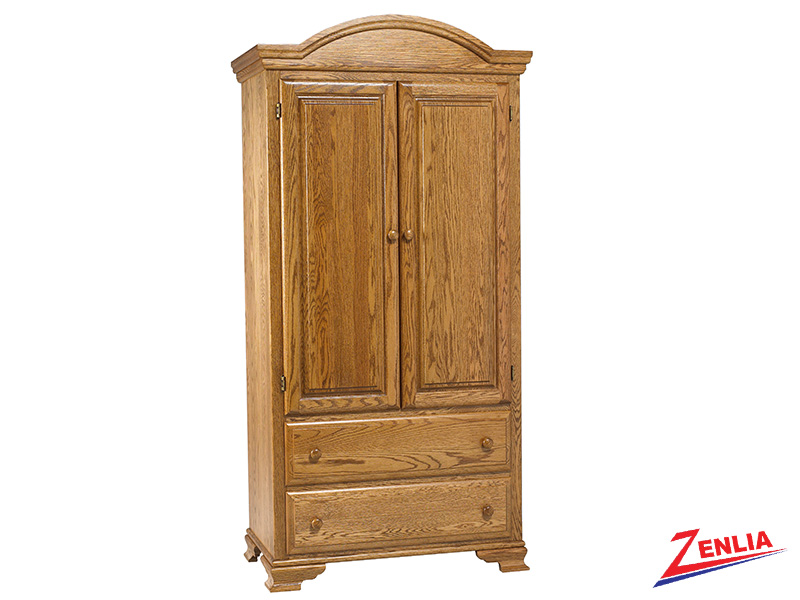 Country Fancy Top Armoire