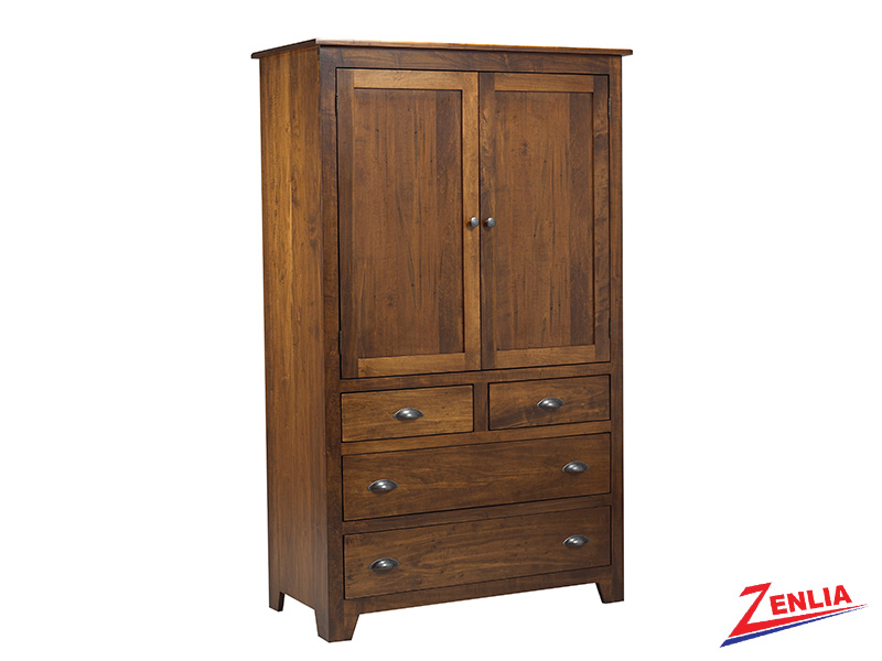 Lake Plain Top Armoire Large