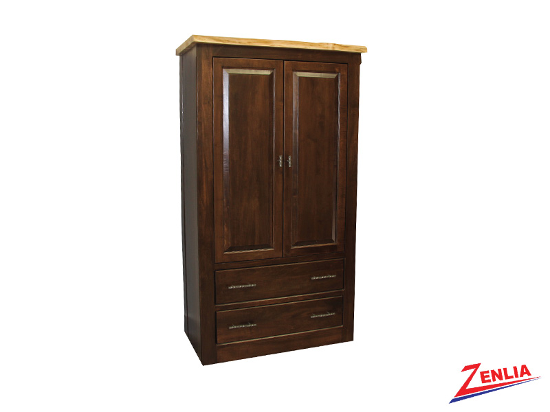 Live Plain Top Armoire
