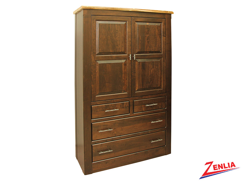Live Plain Top Armoire Large