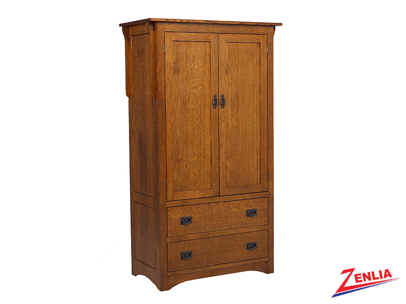 Miss Plain Top Armoire
