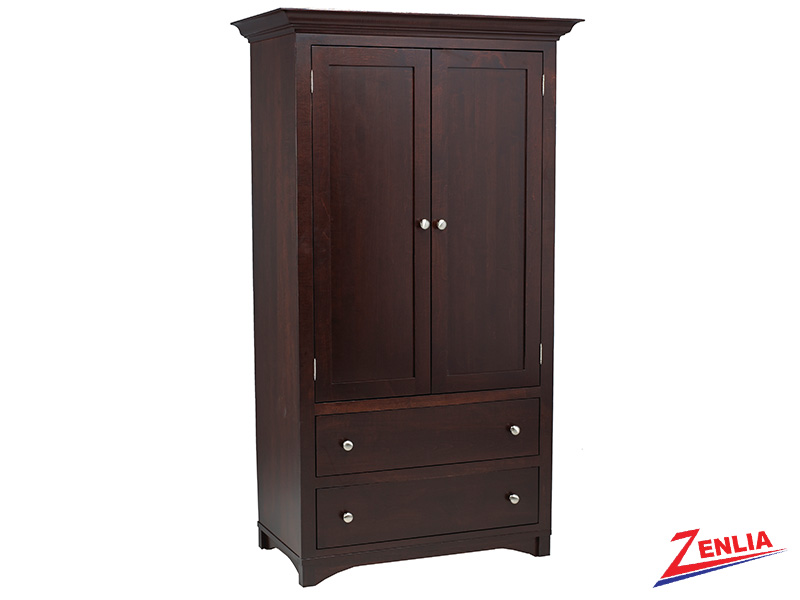 Mont Plain Top Armoire