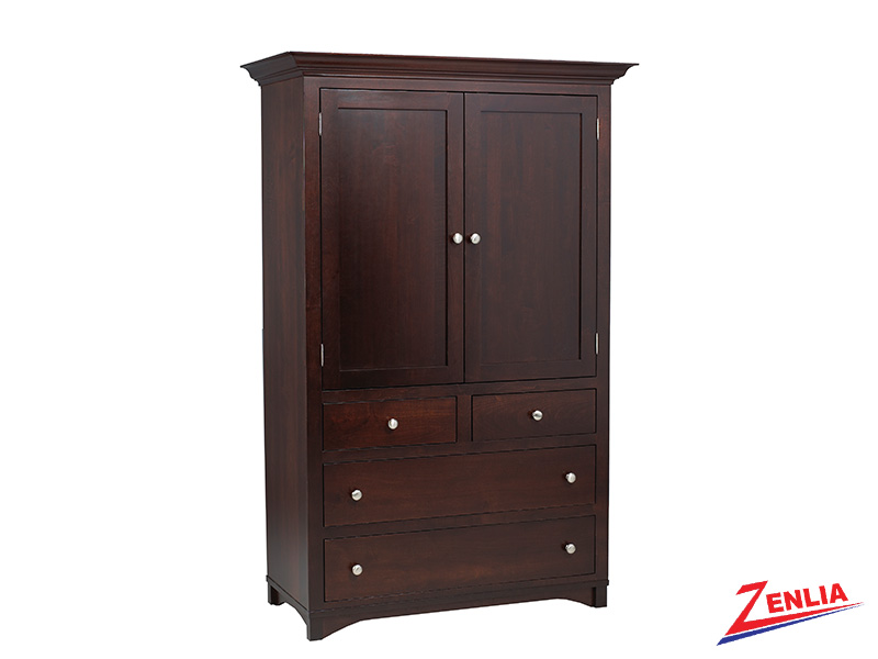 Mont Plain Top Armoire Large