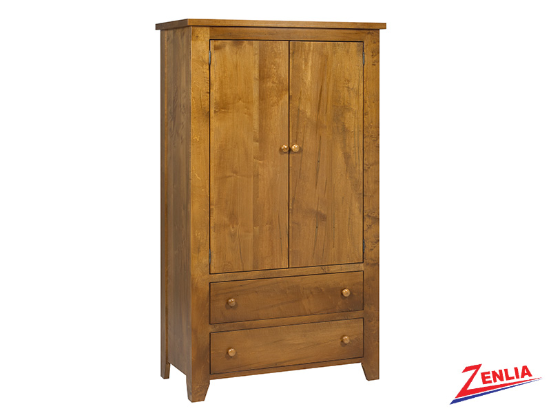Ruff Plain Top Armoire