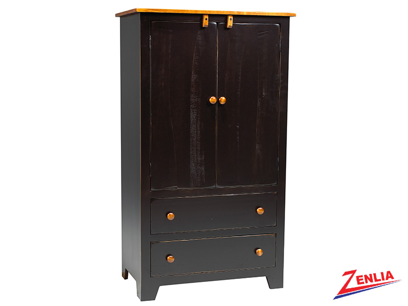 Rust Mini Wardrobe Armoire