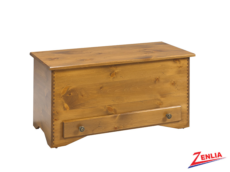 Bour Blanket Box With Drawer