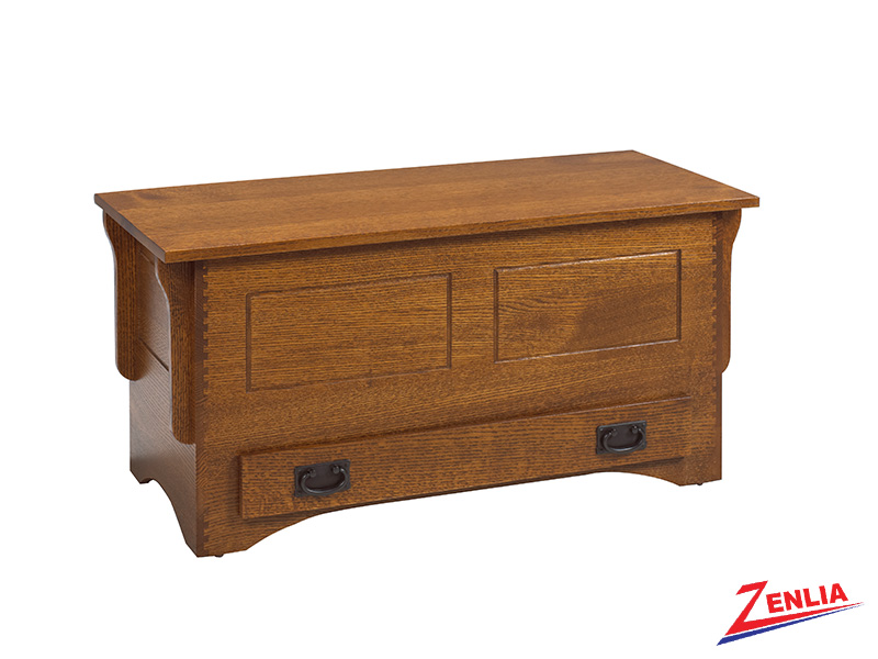 Miss Blanket Box With Drawer