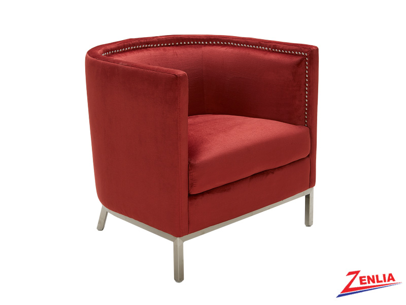 Wal Armchair Red