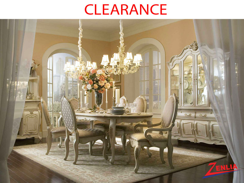 Lavelle Blanc Dining Room Collection On Clearance By Michael Amini