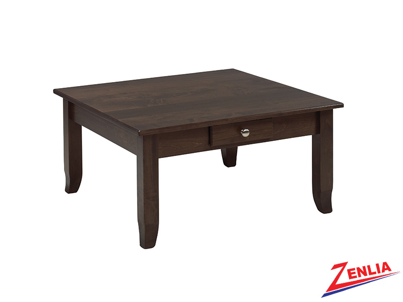 Bour 2 Drawer Square Coffee Table