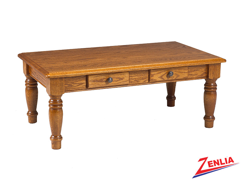 Country 2 Drawer Coffee Table