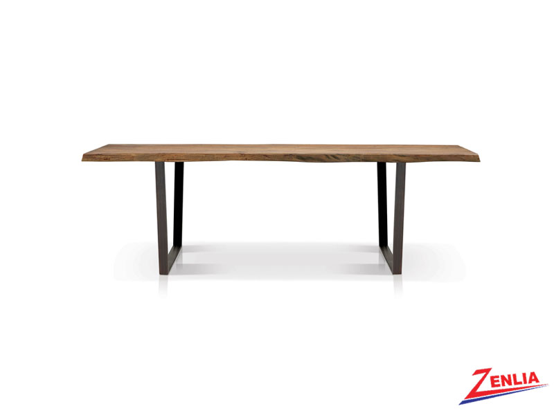 Rich Live Edge Dining Table