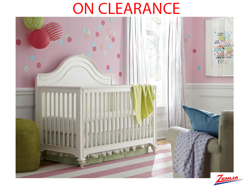 Bella Convertible Crib With Changing Station On Sale
