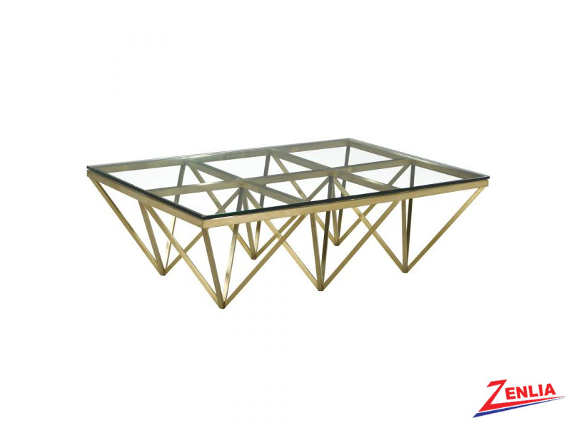 Valen Gold Coffee Table