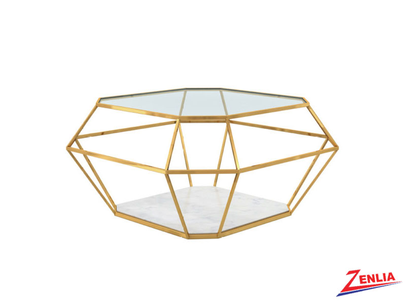 Venu Gold Coffee Table