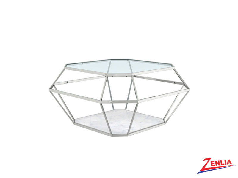 Venu Silver Coffee Table