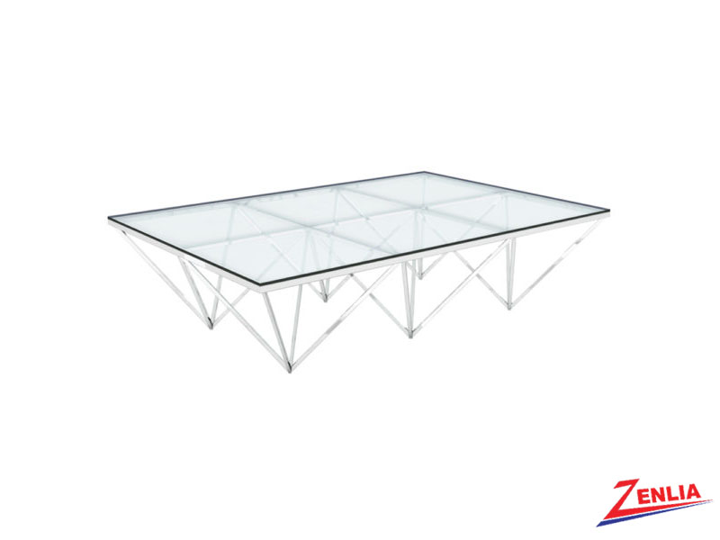 Valen Silver Coffee Table