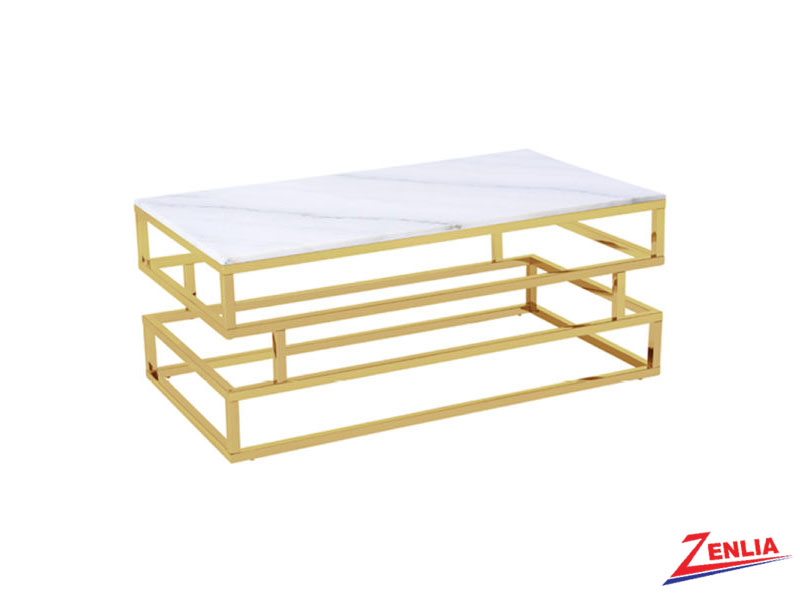 Keat Marble Gold Table