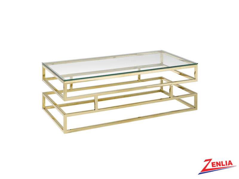 Keat Glass Coffee Table