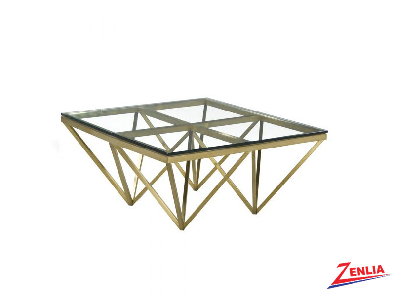 Luxo Gold Coffee Table