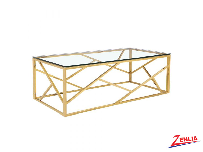 Caro Gold Coffee Table