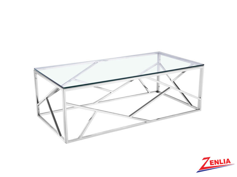 Caro Silver Coffee Table