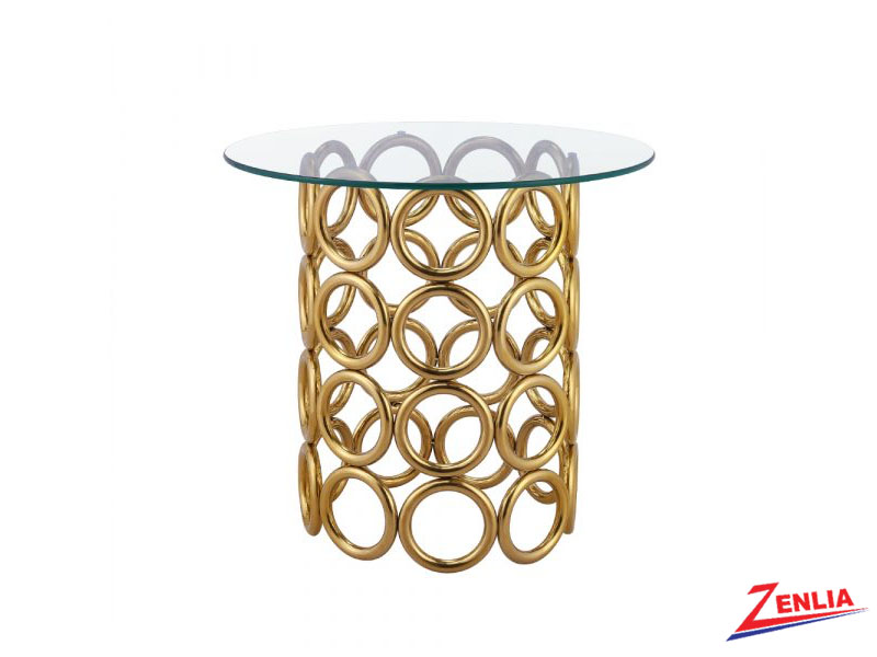 Mont Carl Gold End Table