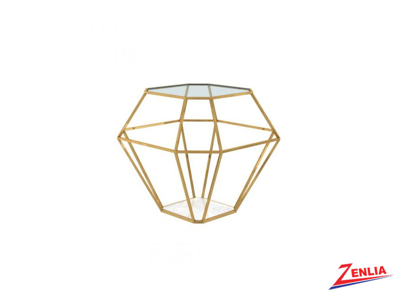 Venu Gold End Table